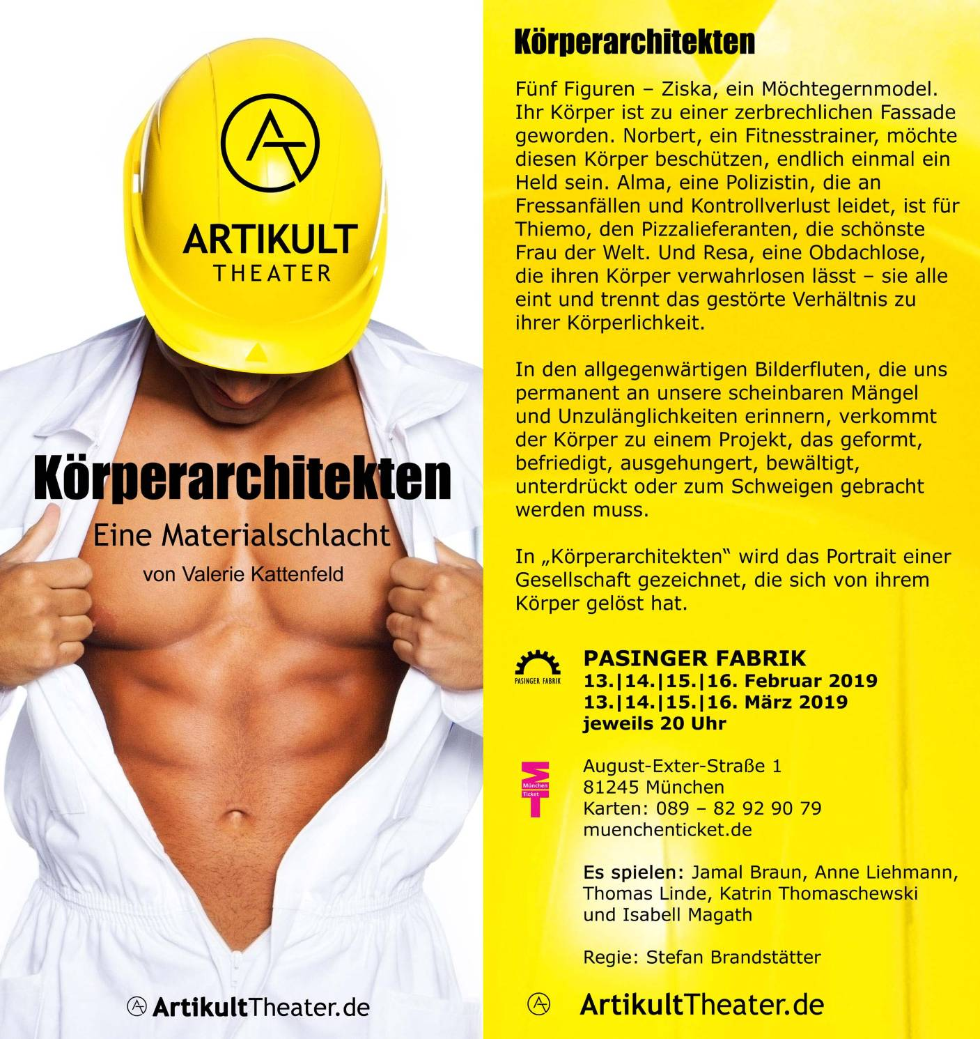 Flyer Körperarchitekten